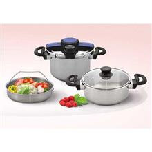 Bernaco Violet Style 2 Pieces Pressure cooker
