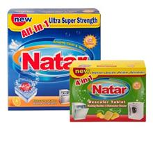 Natar 2 pieces Detergents For Dishwashers Bundle Code 8