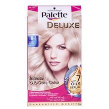 کیت رنگ مو پلت سری Deluxe مدل Shiny Golden Blond شماره 1-10