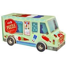 پازل 48 تکه کروکوديل کريک مدل Ice Cream Truck
