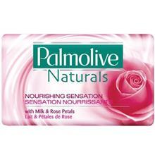 صابون پالموليو سري Naturals مدل Milk And Rose Petals مقدار 100 گرم