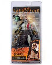 NECA God of War 2 KRATOS in GOLDEN FLEECE ARMOR Action Figure