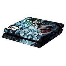 برچسب افقی پلی استیشن 4 ونسونی طرح Comic Joker