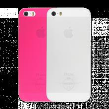 کاور Ozaki 0.3 Jelly Case 2 in 1 SE Clear & Pink