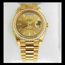 ساعت مچی رولکس اتوماتیک Rolex Day-Date 40 President Yellow Watch 228348