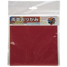 کاغذ اوريگامي اوريمان مدل رنگي دورو 140 × 140