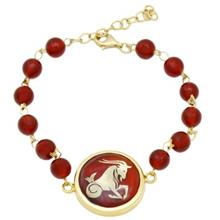 Mahak MB0130 Gold Bracelet