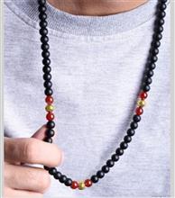 گردنبند مردانه سنگ گالری سان سیلور