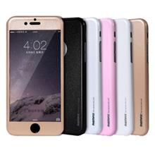 Apple iPhone 6 REMAX 0.3mm 360° Protector Slim Skin Leather Case with Tempered Glass Panel