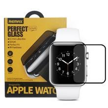 محافظ صفحه نمایش شیشه ای ساعت اپل واچ 38mm با پوشش دهی کامل برند REMAX