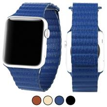 Apple Watch 42mm Baseus Back Series Leather Loop Magnetic Closure Full Grain Leather Band
