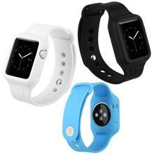بند و کاور اسپرت ساعت اپل واچ 42mm مدل Fresh Color Plus برند BASEUS