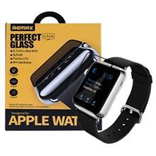 محافظ صفحه نمایش شیشه ای ساعت اپل واچ 42mm با پوشش دهی کامل برند REMAX