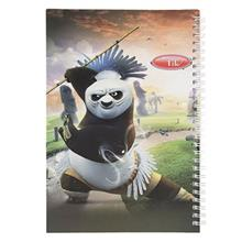 Clips Kung Fu Panda Design Homework Notebook