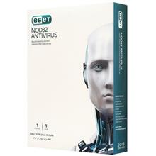 Eset NOD32 Antivirus , 1 Users , 1 Year Security Software