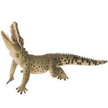 عروسک کالکتا مدل Nile Crocodile Leaping طول 16.5 سانتي متر