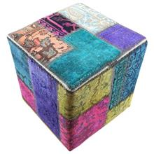 Batik H1005 Collage Carpet Pouff