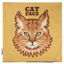 Yenilux Cat Face Cushion Cover