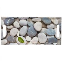 Barico Stones And Leaf Tray 19x41 cm