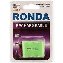 Ronda 600mAh Ni-MH Rechargeable Telephone Battery