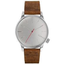 Komono Winston Walnut Watch