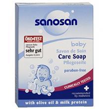 صابون بچه سانوسان مدل Baby Care Soap وزن 100 گرم