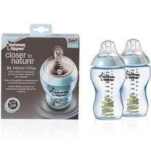 Tommee Tippee TT422521 Baby Bottle 2x 260 ml
