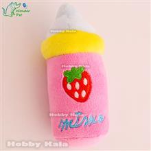 شیشه شیر پولیشی صورتی | NURSING BOTTLE Plush Toy Pink