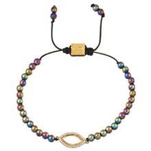 دستبند طلا 18 عيار پرسته مدل 523965