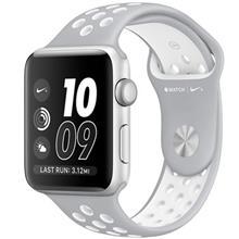 ساعت مچي هوشمند اپل واچ 2 مدل Nike Plus 42mm Silver with Silver/White Band