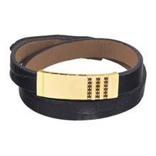 دستبند طلا 18 عیار تاج درسا مدل 530