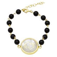 دستبند طلا ماهک مدل MB0119
