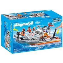 ساختني پلي موبيل مدل Rescue BoatWith Water Hose 5540
