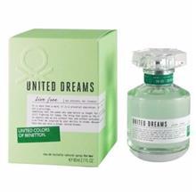 عطر زنانه united dreams live free BENETTON80ml