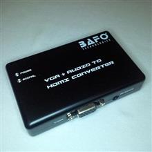 Bafo BF-H101 VGA to HDMI with audio and power adapter converter