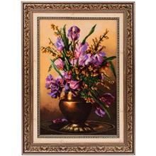 تابلو فرش گالری سی پرشیا طرح گل زنبق کد 901148