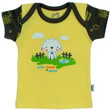 Adamak Sheep Baby T Shirt With Short Sleeve