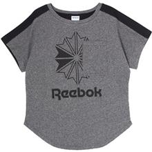 Reebok Starcrest Pocket Graphit T-Shirt For Women