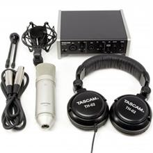 Tascam 2X2 Track Recording Package Studio