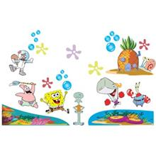 Zhivar Sponge Bob 3D Wall Sticker