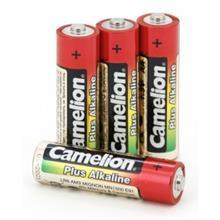 Camelion Plus Alkaline 1.5V AA Batteries (x4) LR6-BP4