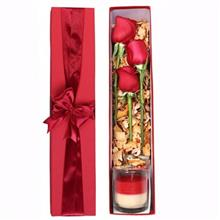 Mita Red Rose And Candle Gift Pack
