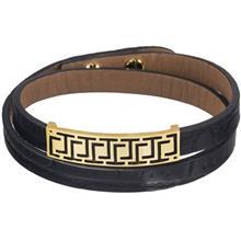 دستبند طلا 18 عیار تاج درسا مدل 137