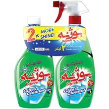 Bojeneh Green Glass Cleaner 1000ml Pack Of 2