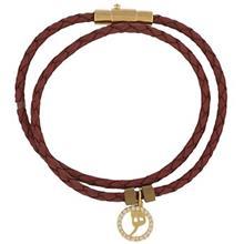 دستبند طلا کیا گالری مدل حرف ه
