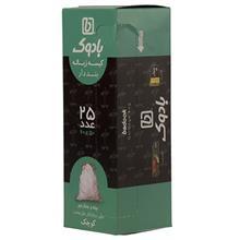 کیسه زباله بادوک مدل Draw Tape سایز کوچک بسته 25 عددی