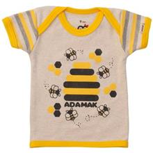 تي شرت آستين کوتاه نوزادي آدمک مدل Bee