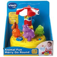 Vtech Animal Fun Merry Go Round Educational Game