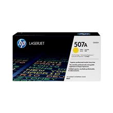 (HP Original Laserjet Toner Cartridge Yellow 507A (CE402A
