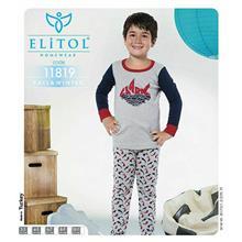لباس راحتی بچگانه پسرانه الیتول کد 11819